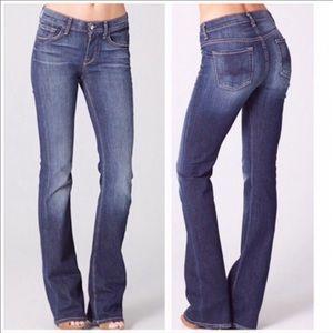 7 FAM High Waist Bootcut Jeans Sz 28 EUC